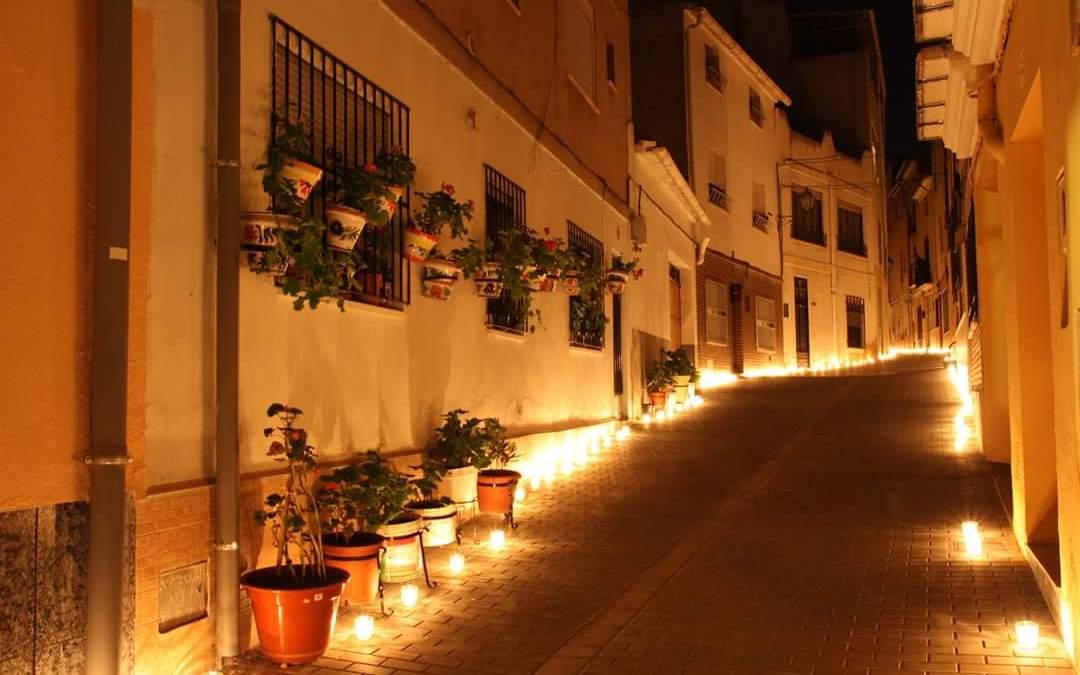"""Más de 30.000 velas iluminarán Utiel en la 3ª edición de """"Utiel, 250 años a la luz de las velas"""""""