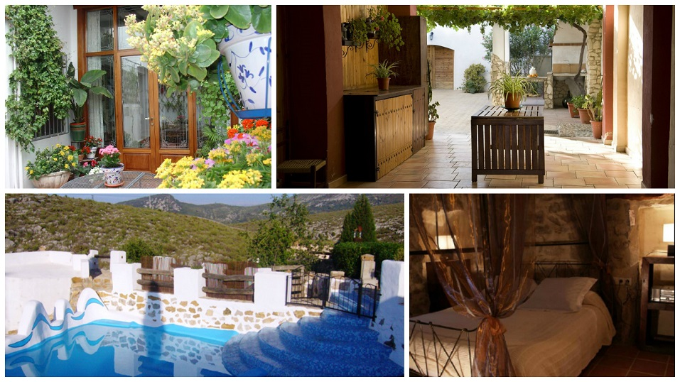 10 casas rurales donde escaparse en la comunidad valenciana for Casas rurales con piscina comunidad valenciana