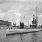 """Cuando el """"Kanguro"""" visitó Valencia junto a torpederos y submarinos"""