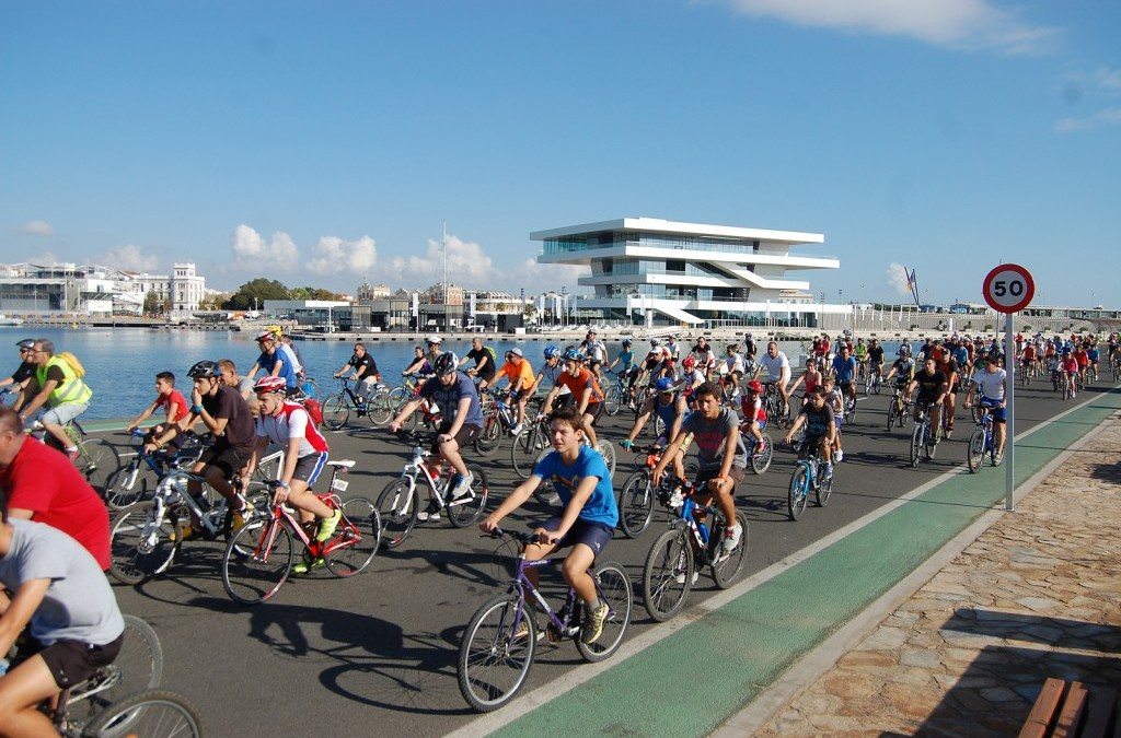 Valencia celebrará el XX Día de la Bicicleta el próximo 18 de septiembre