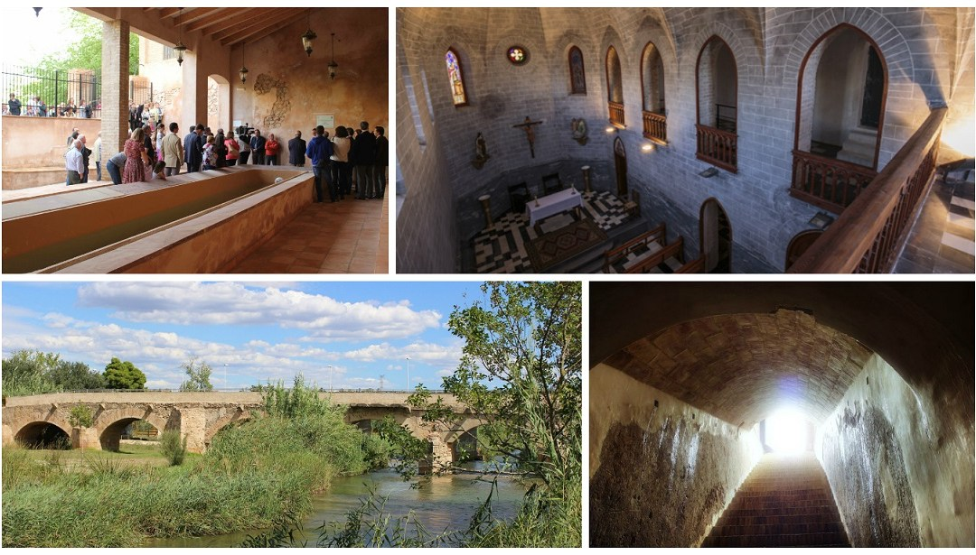 Visitas guiadas GRATUITAS para conocer la Ruta Urbana del Agua de Riba-roja de Túria
