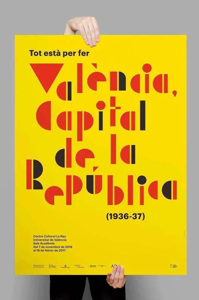 Cartel exposición República en Valencia