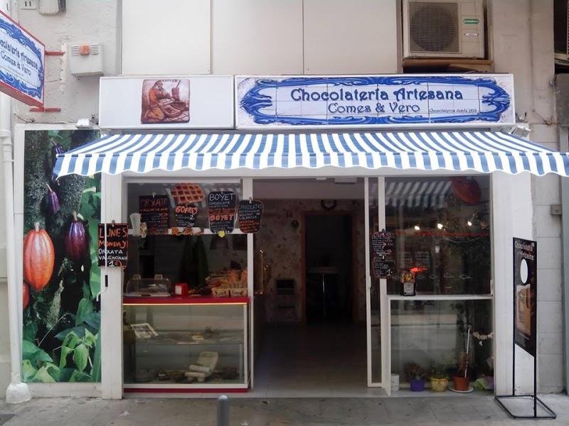 Chocolateria artesana Comes & Vero. Fuente: http://hotelsandchocolates.com/