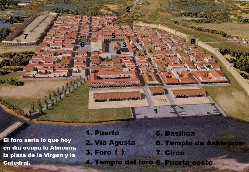 Valentia, segunda fundación, época imperial