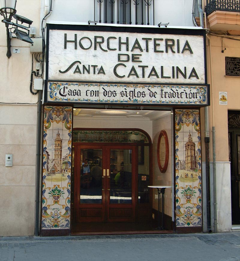 Horchatería Santa Catalina. Fuente: horchateriasantacatalina.com