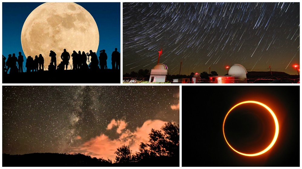 Calendario de lluvias de meteoros, eclipses y superlunas en 2017