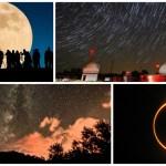 Calendario de lluvias de meteoros, eclipses y superlunas en 2017
