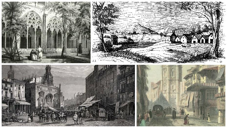 Recuerdos de un viaje por España: la Valencia de 1850