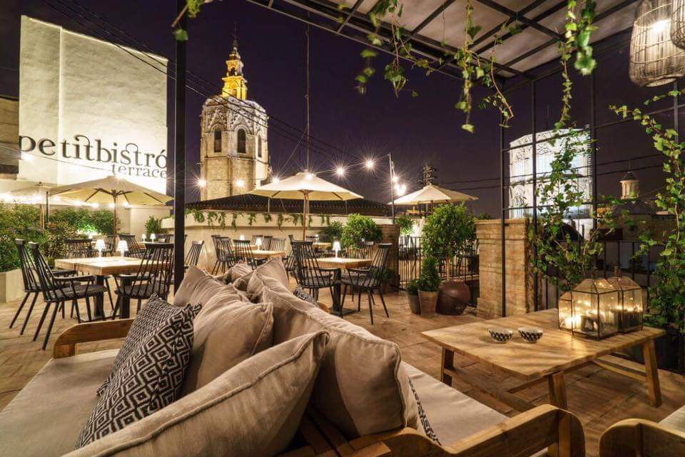 Valencia a vista de pájaro: las terrazas más bonitas de la ciudad