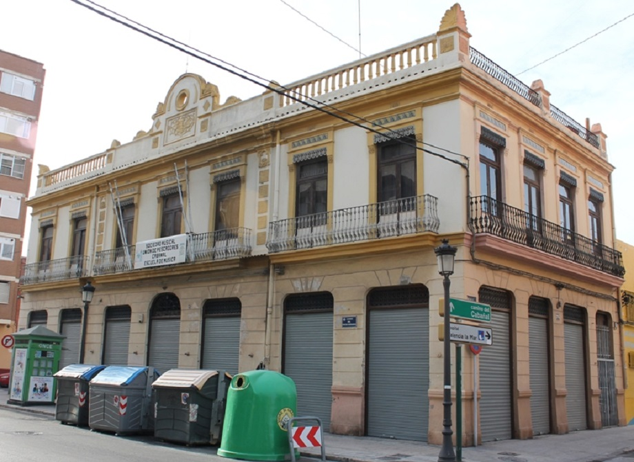 El Casinet del Cabanyal será reformado y rehabilitado para recuperar su estructura original