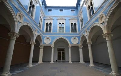 El precioso patio del Embajador Vich del Museo de Bellas Artes de Valencia