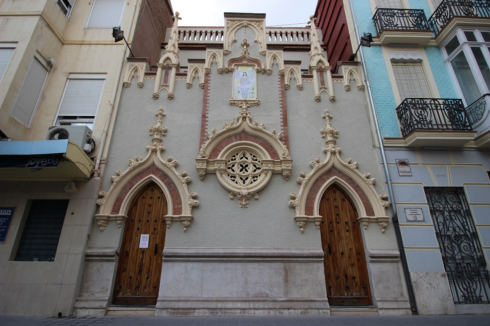 La preciosa parroquia de Cristo Redentor y San Rafael Arcángel del Cabanyal – Canyamelar