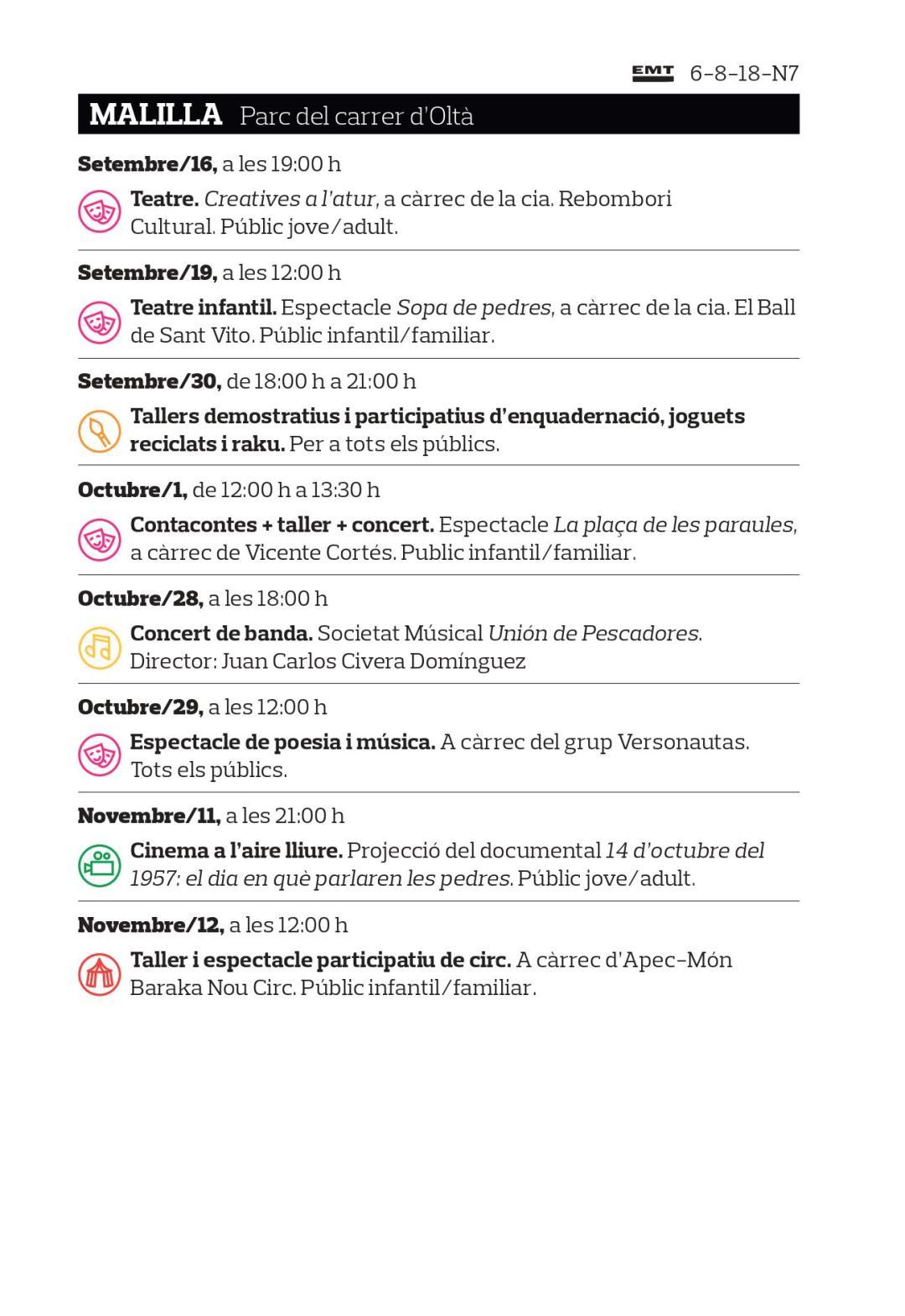 Qu Hacer En Valencia Este Fin De Semana Del 29 De Septiembre Al  # Muebles Nau Moncada