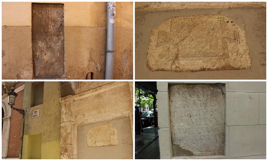 Piden la protección patrimonial para diversas inscripciones de época romana de Valencia