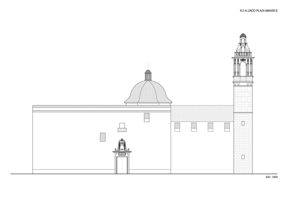La torre de san bartolom el campanario sin iglesia de la for Grado superior arquitectura
