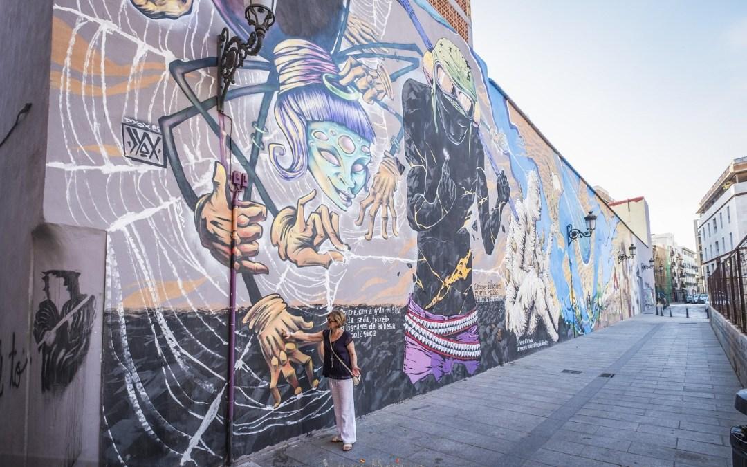 La pintura mural más grande de Valencia