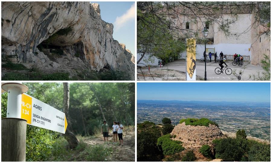 Agullent, un pequeño paraíso rodeado de cuevas, barrancos y neveros