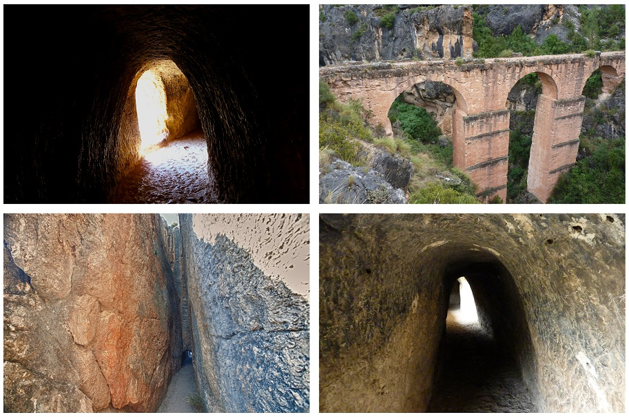La preciosa ruta del acueducto de Peña Cortada y el paso subterráneo de Olinches