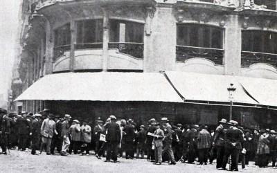 El desaparecido Café Royalty de Valencia