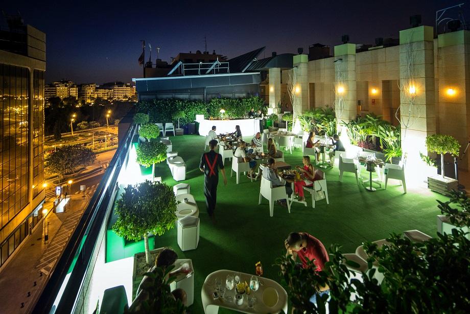 SH Hoteles inaugura la Terraza del SH Valencia Palace