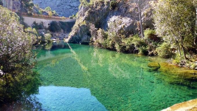 Fluss Clariano bei Ontinyente