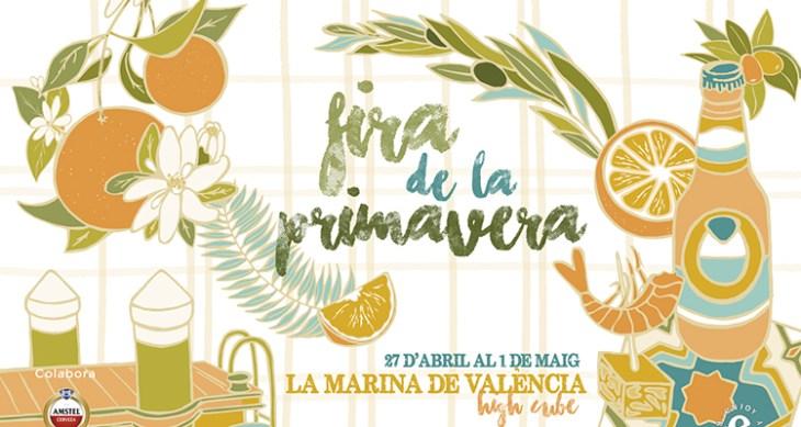 Blumenmarkt in La Marina de Valencia