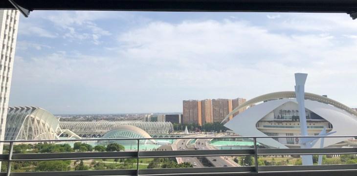 Ausblick auf Valencia