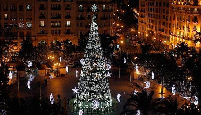 Weihnachtsbaum valencia