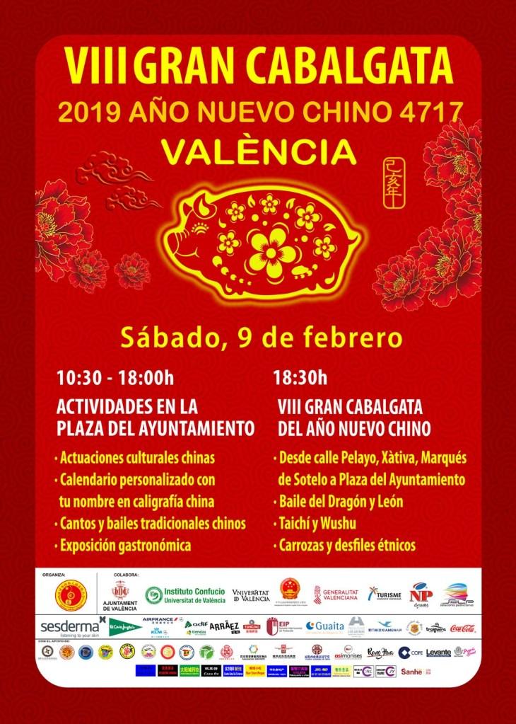 Chinesisches Neujahr 2019_Valencia