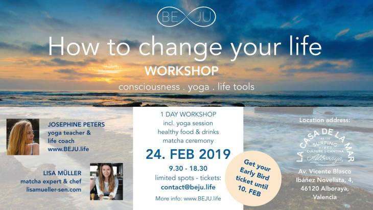 How to change your life workshop_Josephine