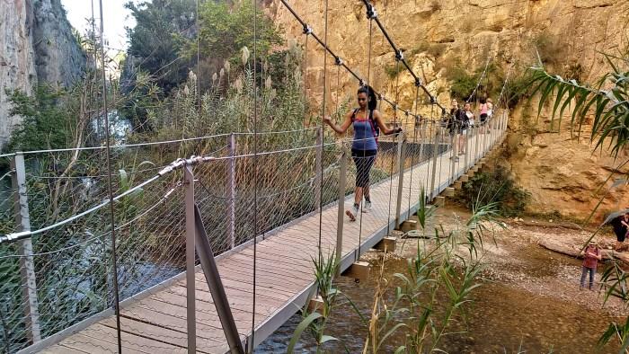 Top Ten Hikes of Los Serranos - Hanging Bridges