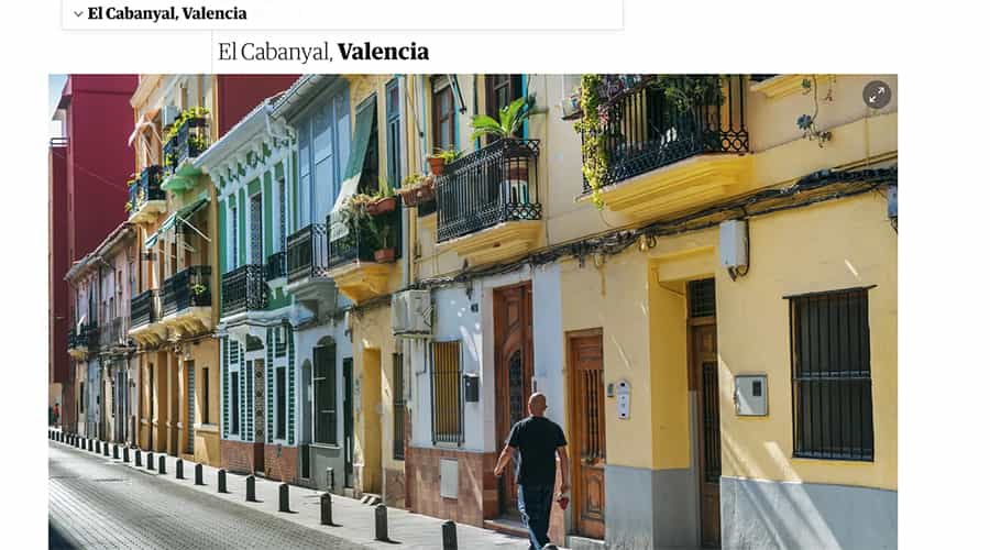 According to The Guardian, Cabanyal is one of the coolest neighbourhoods in the world.