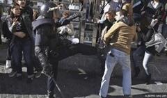 IES Lluis Vives. manifestacion. 20 de febrero 1