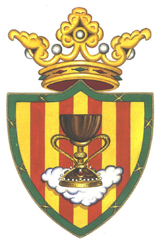 Escudo de la Hermandad del Santo Caliz del Cabañal