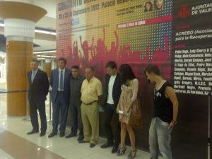 Cantantes, promotores y patrocinadores en la presentación del evento en Nuevo Centro/vlcciudad