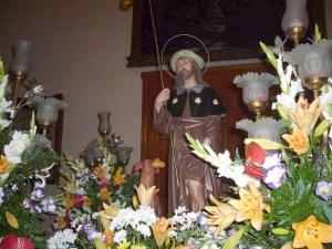 Imagen de San Roque que se venera en Benicalap/fiestasdesancristóbal