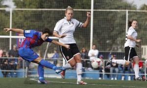 Alba logró uno de los dos goles/jorge ramirez