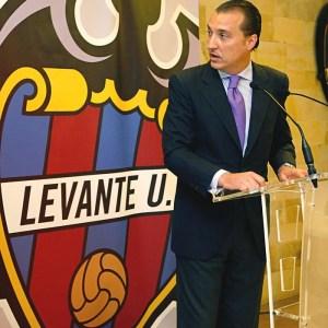 El presidente del Levante U.D. Quico Catalan