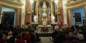 Misa del Día de los Santos Inocentes de hace varios años que ofició el arzobispo/archivalencia