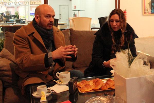 Nacho Mañó y Gisela Rene,  en Obrapropia con VLC Ciudad