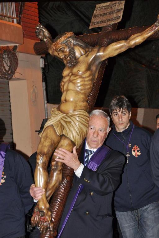 El Cristo de la Concordia saldrá a recorrer su feligresía arropado por las hermandades e imágenes del Grao/r. montesinos