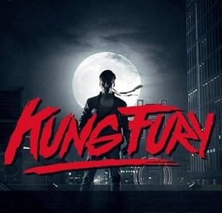 Fotograma de 'Kung Fury'.