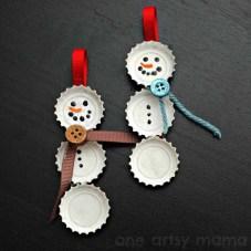 Crea en tu casa una decoración navideña reciclada (7)