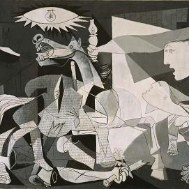 Detalle de 'Guernica' de Picasso.