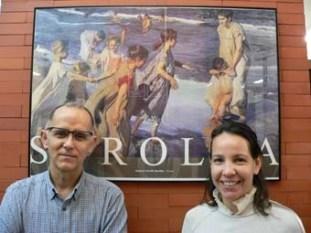 Clodoaldo Roldán y Jorgelina Carballo. (Foto de Clodoaldoweb).