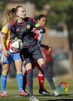 Las valencianas no pudieron remontar los dos goles en contra.(Foto-LaLiga).