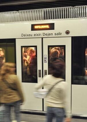 Este fin de semana se realizará un refuerzo diurno en el metro entre las 10.30 y las 21.00 horas.