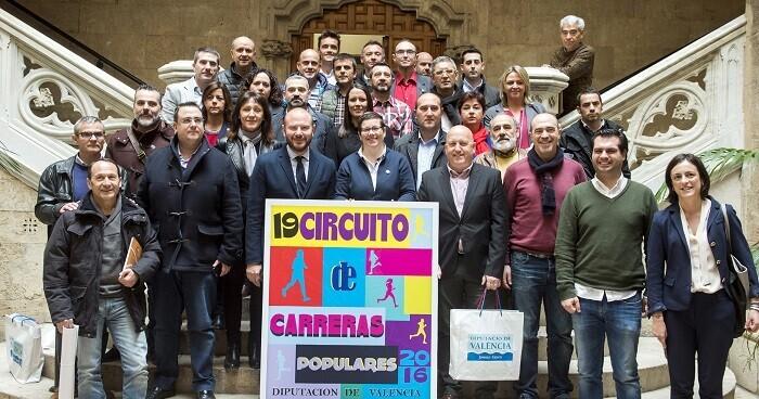 La XIX edición del Circuito de Carreras Populares de la Diputación, está compuesta por un total de 13 pruebas (Foto-Abulaila).