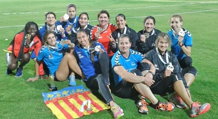 Imagen de las Campeonas de Europa 2015.