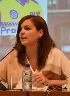 La alcaldesa accidental, Sandra Gómez, se ha reunido hoy con el secretario autonómico de Turismo, Francesc Colomer.